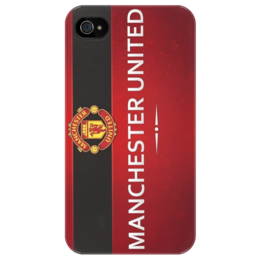 "Чехол для iPhone 4/4S ""Manchester United"" - футбол, спорт, football, uk, манчестер юнайтед, manchester united, fc, манчестер"