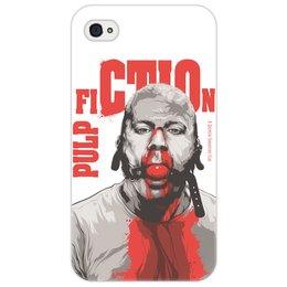 """Чехол для iPhone 4/4S """"Pulp Fiction (Брюс Уиллис)"""" - pulp fiction, культовое кино, тарантино, брюс уиллис, криминальное чтиво"""