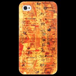 """Чехол для iPhone 4/4S """"Шаолинь"""" - единоборства, кунг фу, ушу, китайские, восточные"""