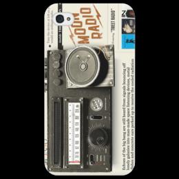 "Чехол для iPhone 4/4S ""Retro"" - арт, radio"
