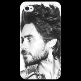 "Чехол для iPhone 4/4S ""30 stm"" - jared leto, 30 seconds to mars, rock, 30 stm, джаред лето, тридцать секунд до марса"
