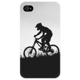 "Чехол для iPhone 4/4S ""Mountain Bike"" - спорт, mountain bike"