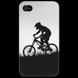 "Чехол для iPhone 4/4S ""Mountain Bike"" - спорт, mountain bike"