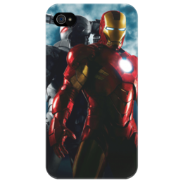 "Чехол для iPhone 4/4S ""Iron man"" - man, железный человек, iron man, iron man 3, человек утюг, железный человек 3"