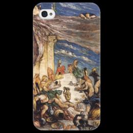 "Чехол для iPhone 4/4S ""Оргия"" - картина, сезанн"