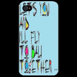 """Чехол для iPhone 4/4S """" """"на Бали"""" """" - любовь, арт, iphone, в подарок, оригинально, креативно, выделись из толпы, чехол, бампер, клип кейс"""