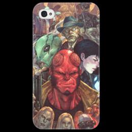 """Чехол для iPhone 4/4S """"Хеллбой"""" - комиксы, демон, hellboy, хеллбой, dark horse comics"""