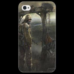 """Чехол для iPhone 4/4S """"сталкер"""" - в подарок, stalker"""