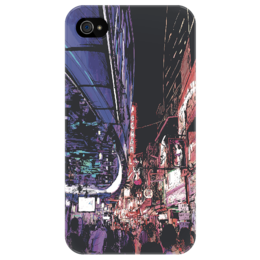 "Чехол для iPhone 4/4S ""clubcity"" - креативно"