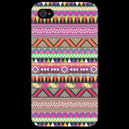 """Чехол для iPhone 4/4S """"Индийский узор"""" - арт, узор, стиль, хипстер, hipster, этнический, ethnic"""