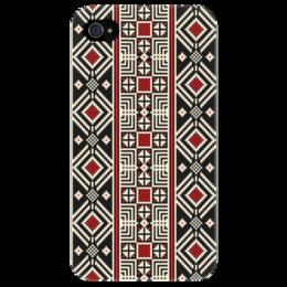 """Чехол для iPhone 4/4S """"Этнический узор"""" - арт, узор, стиль, ethnic, hipster"""