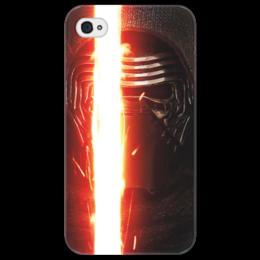 """Чехол для iPhone 4/4S """"Звездные войны - Кайло Рен"""" - звездные войны, кино, фантастика, дарт вейдер, star wars"""