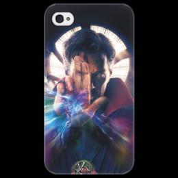 "Чехол для iPhone 4/4S ""Доктор Стрэндж"" - доктор стрэндж, марвел, мстители, marvel, doctor strange"