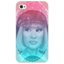 "Чехол для iPhone 4/4S ""Nicki Minaj"" - hip hop, r&b, ники минаж"