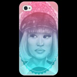 """Чехол для iPhone 4/4S """"Nicki Minaj"""" - hip hop, r&b, ники минаж"""