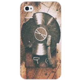 """Чехол для iPhone 4/4S """"RetroStyle"""" - ретро, retro, vinyl, патефон, грампластинка"""