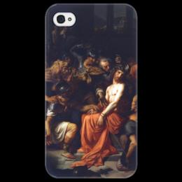 "Чехол для iPhone 4/4S ""Поругание Христа (Картина Кабанеля)"" - картина, кабанель"