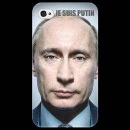 "Чехол для iPhone 4/4S ""JE SUIS PUTIN"" - путин, putin, je suis, i phone"