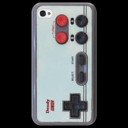 """Чехол для iPhone 4/4S """"dendy"""" - прикольно, прикол, девушка, юмор, смешные, приколы, смешное, популярные, прикольные, в подарок"""