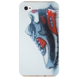 "Чехол для iPhone 4/4S ""Air Max "" - old school, nike, sneakers, kicks, сникеры"