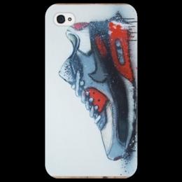 """Чехол для iPhone 4/4S """"Air Max """" - kicks, nike, old school, сникеры, sneakers"""