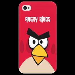 "Чехол для iPhone 4/4S ""Angry Birds (Terence)"" - terence, компьютерная игра, мультфильм, angry birds, злые птички"