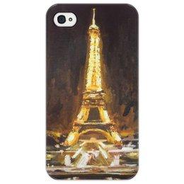 "Чехол для iPhone 4/4S ""Париж"" - paris, шоколад, эйфелева башня, париж"