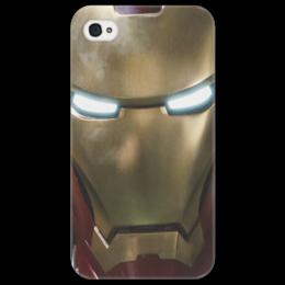 "Чехол для iPhone 4/4S """"Железный человек"""" - iphone, marvel, железный человек, iron man, tony stark, iphone 4, avangers"