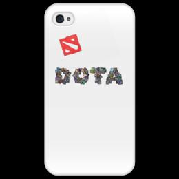 """Чехол для iPhone 4/4S """"Игра Dota 2"""" - dota, компьютерная игра"""