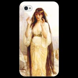 """Чехол для iPhone 4/4S """"Дочь Иеффая (картина Кабанеля)"""" - картина, кабанель"""