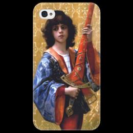 """Чехол для iPhone 4/4S """"Паж (картина Кабанеля)"""" - картина, кабанель"""