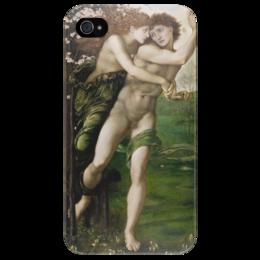 "Чехол для iPhone 4/4S ""Филлис и Демофонт (Phyllis and Demophoon)"" - картина, бёрн-джонс"