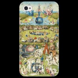 """Чехол для iPhone 4/4S """"Сад земных наслаждений"""" - картина, сад, искусство, босх"""
