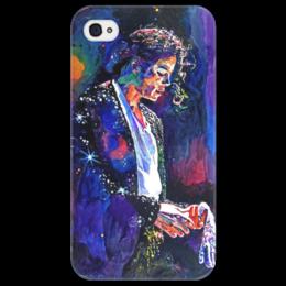 """Чехол для iPhone 4/4S """"♛ Король жив! ♛"""" - музыка, арт, красиво, music, модно, style, стиль, популярные, джексон, король"""