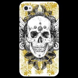 "Чехол для iPhone 4/4S ""Skull"" - череп, sull"