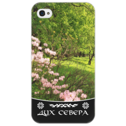 "Чехол для iPhone 4/4S ""Дух Севера"" - цветы, природа, зелень, animal, travel"