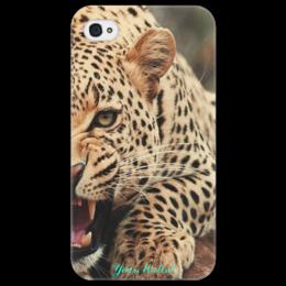 """Чехол для iPhone 4/4S """"Rrrawr)"""" - любовь, стиль, популярные, мужская, женская, в подарок, оригинально, девушке, парню, креативно"""
