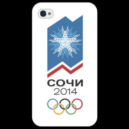 "Чехол для iPhone 4/4S ""Сочи 2014"" - россия, 2014, сочи, olympics"