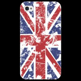 "Чехол для iPhone 4/4S ""Флаг UK"" - арт, лондон, англия, флаг, flag, england, uk, великобритания, union jack"