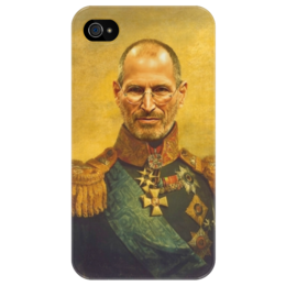 "Чехол для iPhone 4/4S ""Steve Jobs"" - арт, steve jobs, ceo, apple, стив джобс"