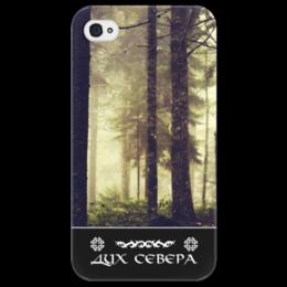 """Чехол для iPhone 4/4S """"Дух Севера"""" - арт, жизнь, природа, путь воина, дух севера"""