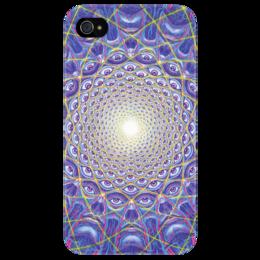 """Чехол для iPhone 4/4S """"Collective vision"""" - psychodelic, оригинально, психоделия, транс, alex grey, tool"""