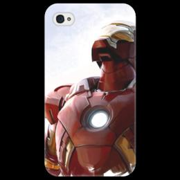"Чехол для iPhone 4/4S ""Железный Человек"" - арт, iphone, marvel, железный человек, iron man, iphone4"