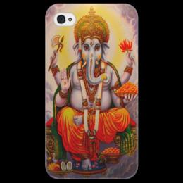 "Чехол для iPhone 4/4S ""Ganesh"" - арт, рисунок, ganesha, ганеша, hindu"