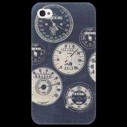 """Чехол для iPhone 4/4S """"Do the Ton"""" - ретро, скорость, speed, vintage, bikes, caferacer, speedometer, спидометр, dotheton"""