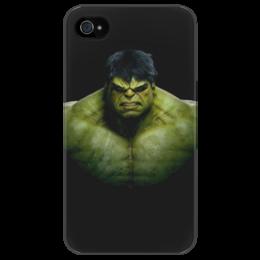 """Чехол для iPhone 4/4S """"Без названия"""" - арт, hulk, халк, marvel, comics, комикс"""