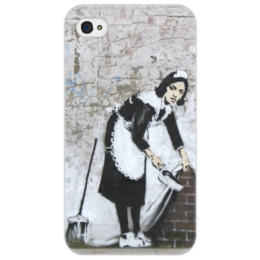 "Чехол для iPhone 4/4S ""Banksy"" - арт, banksy, street, бенкси, стрит, street art, graffiti artist, граффити"