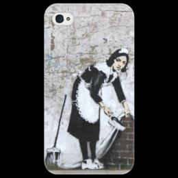 "Чехол для iPhone 4/4S ""Banksy"" - арт, граффити, banksy, street, street art, бенкси, стрит, graffiti artist"