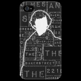 """Чехол для iPhone 4/4S """"Шерлок"""" - арт, sherlock, шерлок холмс, sherlock holmes, bbc, detective, детектив"""