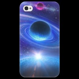 """Чехол для iPhone 4/4S """"Космос"""" - космос, наука, прогресс, денис гесс, the spaceway"""